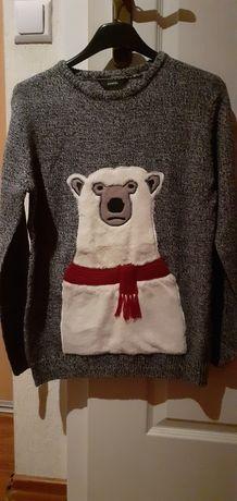 Sweter george ciepły milutki  11 - 12 lat 146 - 152  dla chłopca