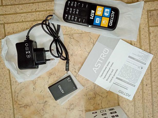 Новый ГАРАНТИЯ телефон с камерой ASTRO A171 2 SIM MP3 не смартфон