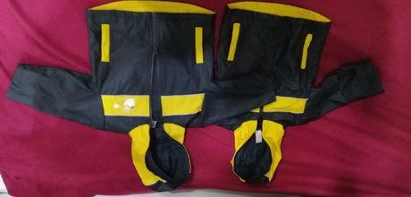Прорезиненная курточка дождевик Baby Club 80/86 см