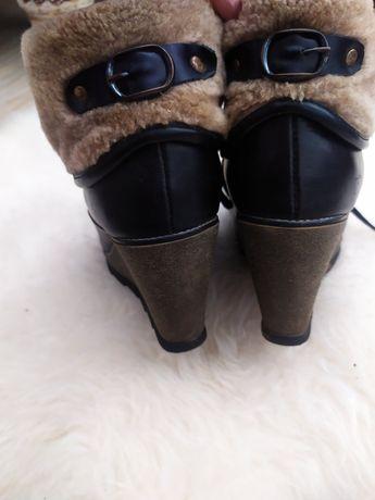 Ботинки женские, жіночі теплі ботінки