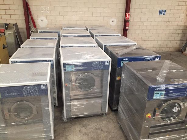 Aluguer de equipamentos lavandaria