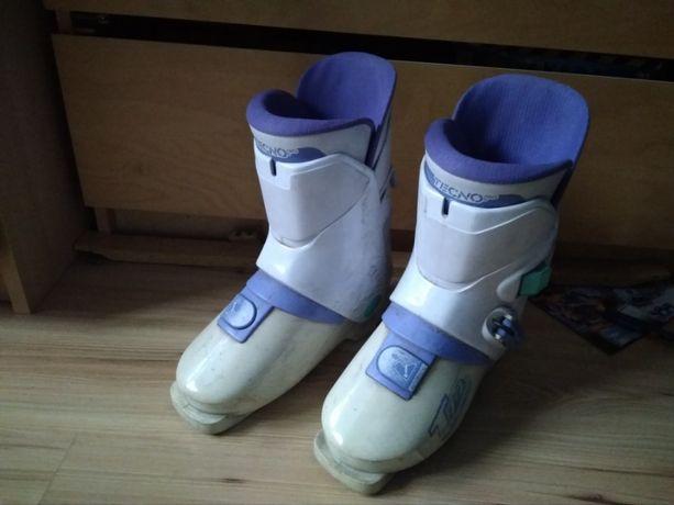 Buty narciarskie damskie 37/38 (23cm) TECNO PRO