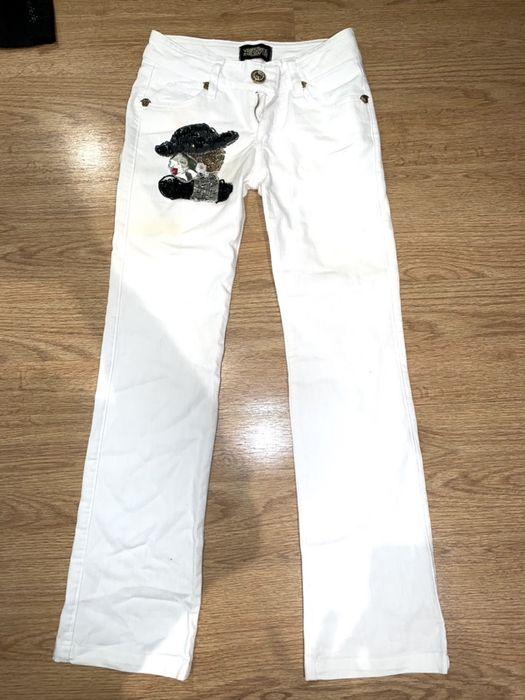 Фирменные джинсы белые Одесса - изображение 1