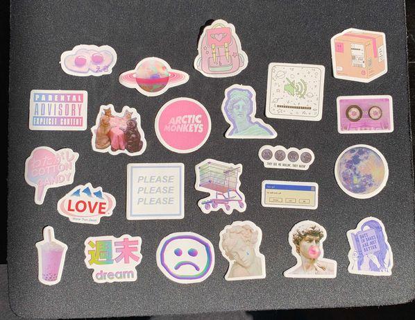 Futuro Stickers Pack (23 autocolantes)