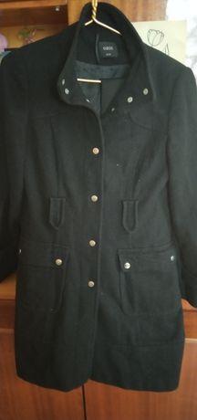 Пальто черное классика