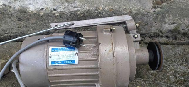 Silnik elektryczny 230V ze sprzęgłem 0,4KW jak nowy