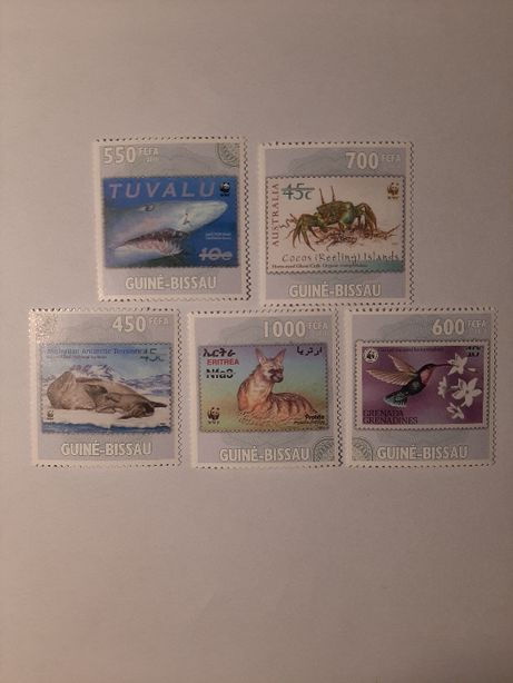 Znaczki pocztowe - zestaw 1