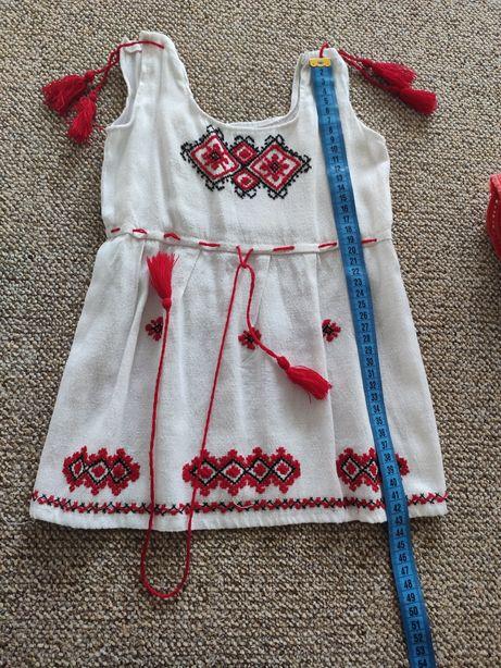 Платье вышиванка 1-2 года