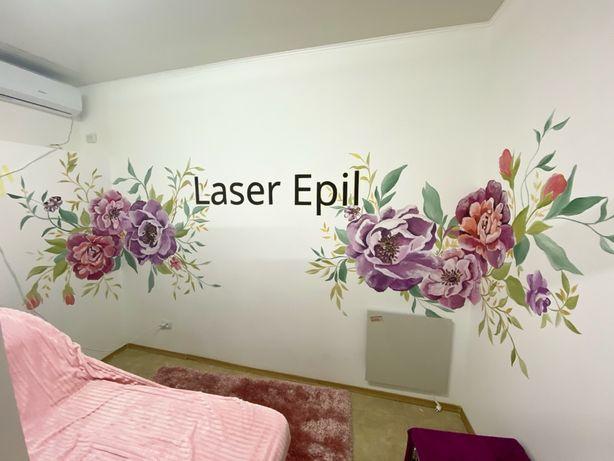 Художественная роспись стен, рисунки в интерьере, живопись
