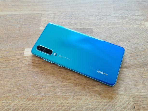 Huawei P30 6/128GB Crystal JAK NOWY Gwarancja SKLEP W-WA
