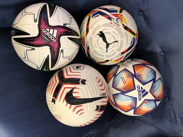 Самые новые мячи Nike Flight/Puma Accelerate/Adidas UCL 2021/найк/пума
