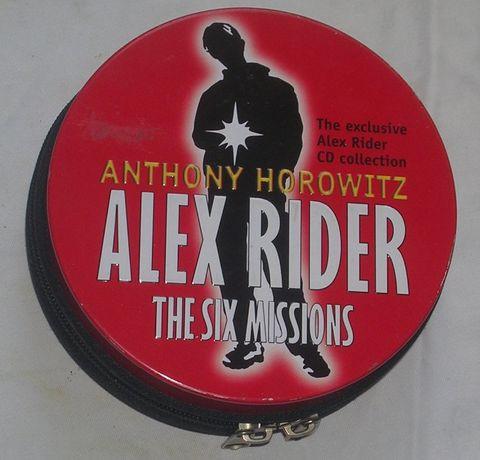 Audiobook język angielski A. Horovitz Alex Rider