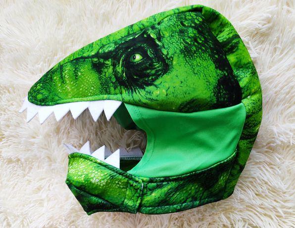 Шлем маска динозавра