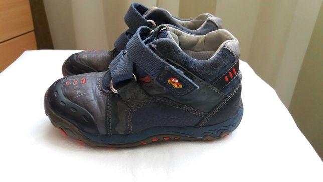 Ботиночки кожаные Clarks на мальчика р.6,5 G (15 см)