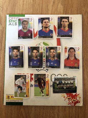 Vendo/Troco Cromos Euro 2008