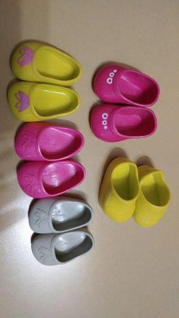 Обувь для разных кукол и пупсов,фирменная4см, 5 см,6см,7см,8см