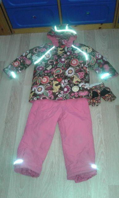 Hanna andersson 120 +10 комбинезон комбез куртка полукомбинезон сша