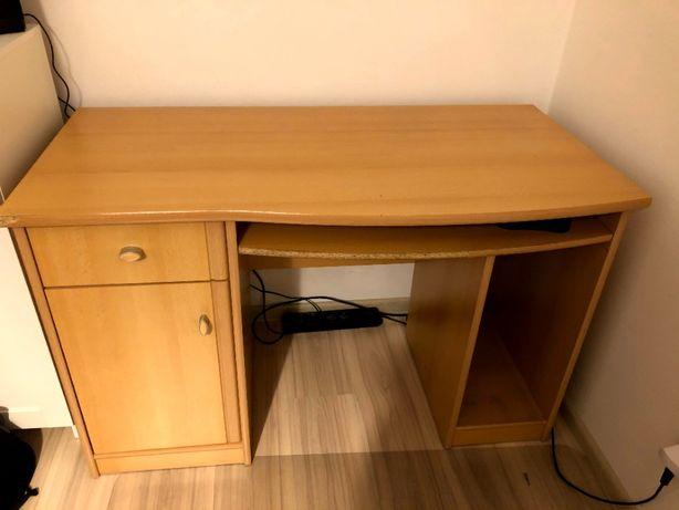 Biurko używane, wymiary 120x60, odbiór: Czerwone Maki