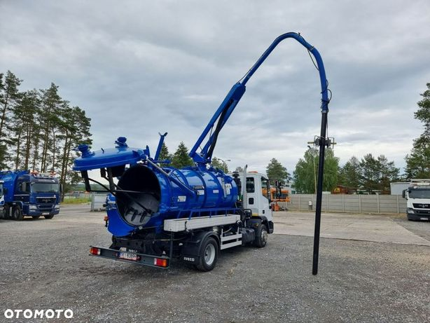Iveco WUKO CW-5A do zbierania odpadów płynnych separatorów  WUKO asenizacyjny separator beczka odpady czyszczenie kanalizacja