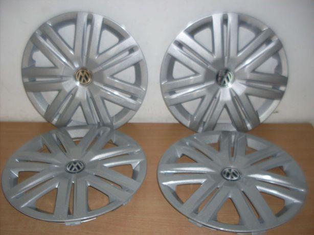 Jogo de 4 tampões de rodas novos Volkswagen Polo jante 14