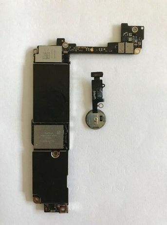 Apple iphone 7 board main board placa botao branco ou preto livre
