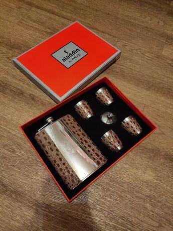 Мужской подарочный набор фляга стопки рюмки