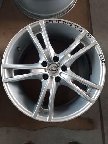 287 Felgi Aluminiowe VOLVO R18 5x108 BARDZO ŁADNE