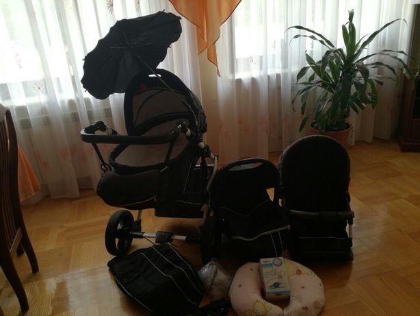 Sprzedam wózek firmy niemieckiej Leviroo+spacerowy gratis