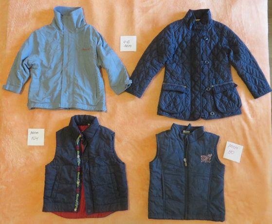 Курточки и жилетки для девочки