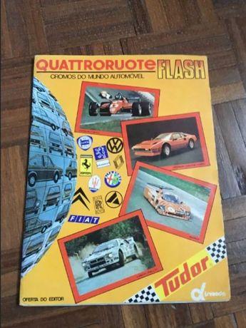 Quattroruote Flash - Caderneta COMPLETA - Anos 80 - disvenda