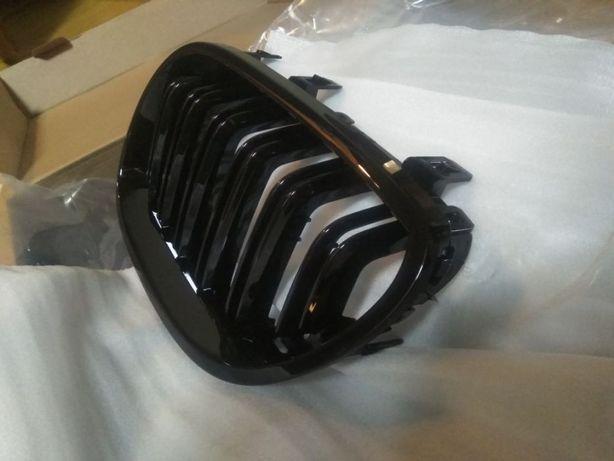 ноздри BMW e60 двойные ребра m5 чёрные решетка радиатора бмв е60 е61