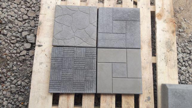 Płyty/Płytki chodnikowe tarasowe betonowe 30x30x3