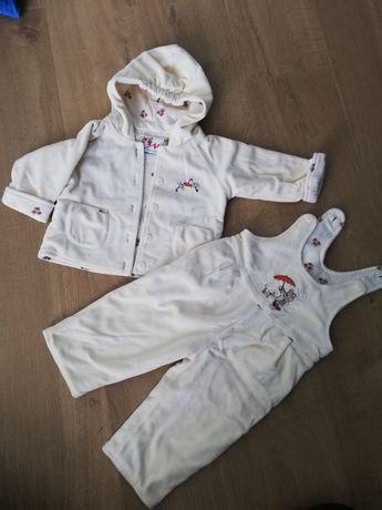 Komplet na zimę r 80 kombinezon (spodnie i kurtka)