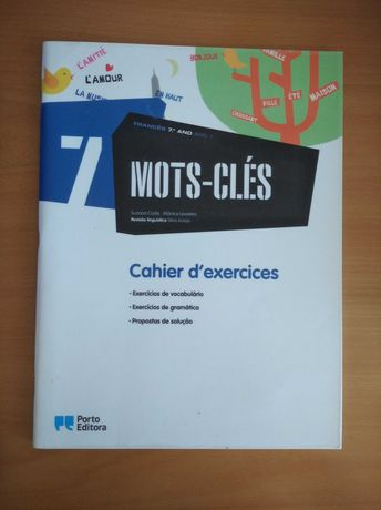 """Caderno de atividades """"Mots-Clés"""" - 7º ano"""