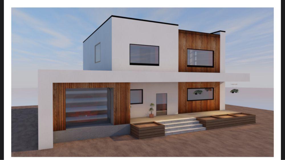Продам проект двухэтажного дома. Недорого