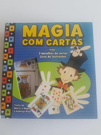 Magia com cartas
