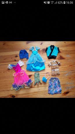 Barbie Mattel barbie mattel lalka ubranka dla lalki księżniczka
