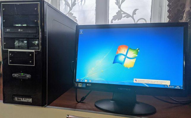 Системный блок, ПК, компьютер + монитор