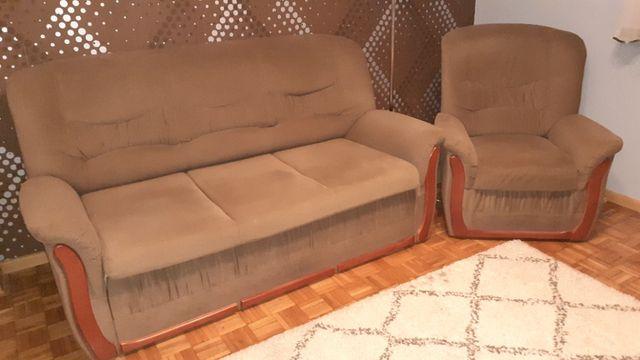 Sofa + fotel sprzedam