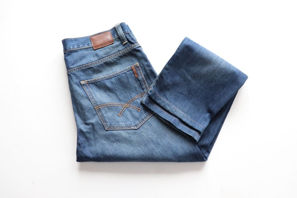 Męskie spodnie jeansy Big Star Morgan W36 L32 Węgierska Górka - image 1