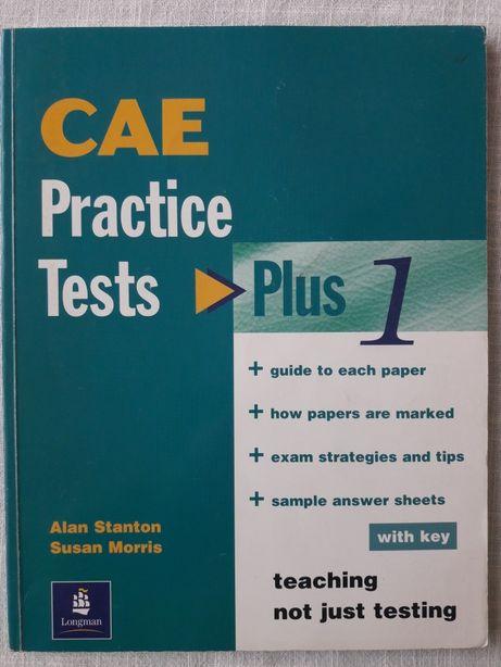 CAE practice tests plus 1 (z kluczem)