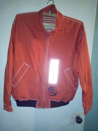 Куртка-ветровка молодежная , х/б-плащевка , размер 48-50 , Южная Корея