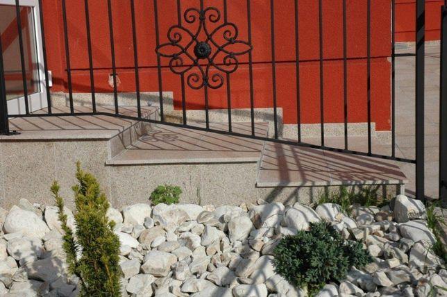 SCHODY Stopień GRANIT żółty różowy PŁOMIEŃ 150x33x2 cm OKAZJA!