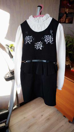 Сарафан платье школьное для школы р.128