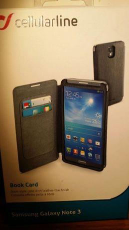Etui zamykane skóropodobne Samsung Galaxy Note 3