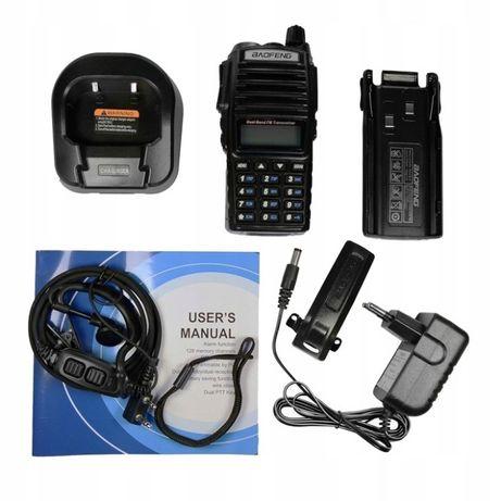 Radiotelefon UV82 8W Skaner -Straż ,TAXI,Pogotowie,Odblokowany Nasłuch