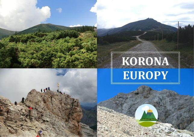 Książeczka turystyczna Korona Europy dla turysty górskiego