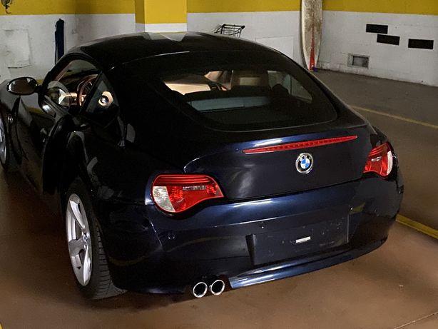 BMW Z4 coupe Azul 2007