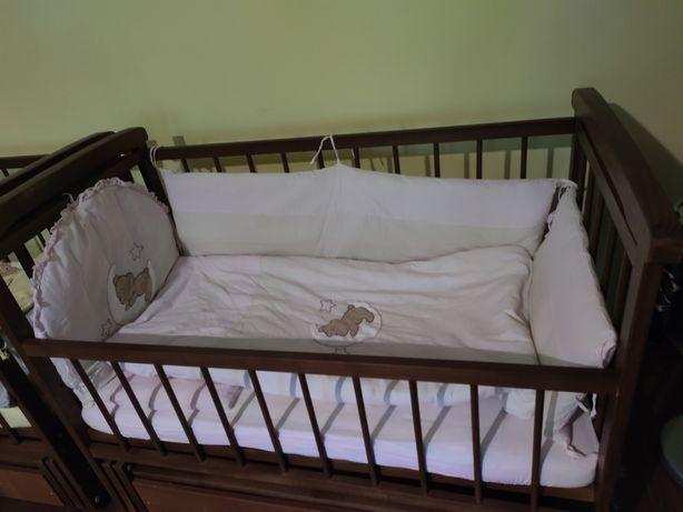 Набір у ліжечко для новонароджених. Ліжечко