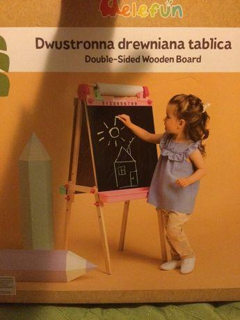 Dwustronna tablica dla dzieci